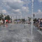 Торжественное открытие фонтана
